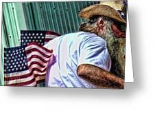 Freedom Man Greeting Card