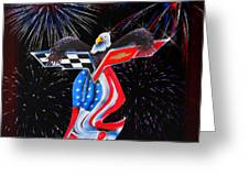Freedom Greeting Card by Patricia Stalter