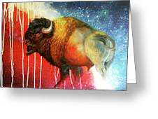 Freedom Roams Greeting Card