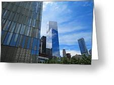 Freedom Tower 03 Greeting Card