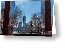 Freedom Tower Framed Greeting Card
