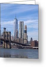 Freedom Tower I I Greeting Card