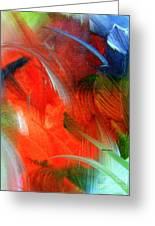 Freedom With Art Greeting Card