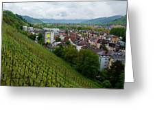 Freiburg Wine Sloop Greeting Card