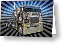 Freightliner Greeting Card