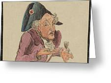 French Brandy Greeting Card