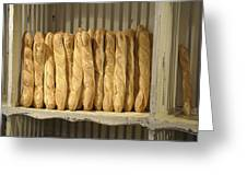 French Bread In Roussillon Greeting Card