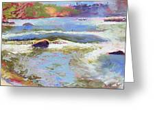 French Broad Rver Overflowing Greeting Card