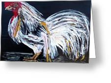 French Country Chicken Greeting Card