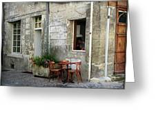 French Countryside Corner Greeting Card