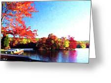 French Creek Fall 94-020 Greeting Card