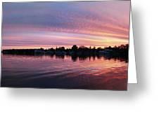 French Creek Sunrise Greeting Card