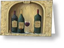 French Estate Wine Collection Greeting Card