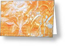 French Floral 2 Greeting Card