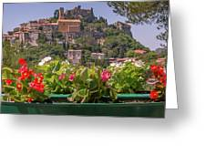French Flowers Greeting Card