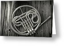 French Horn 2 Greeting Card