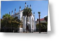 French Huguenot Church In Charleston Greeting Card