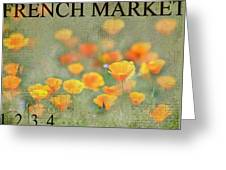 French Market Series Q Greeting Card