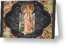 French Perfume-jp3737 Greeting Card