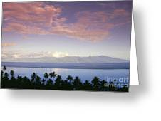 French Polynesia, Papeete Greeting Card