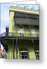 French Quarter 11 Greeting Card