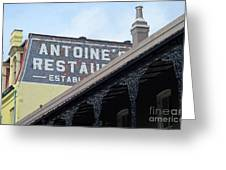 French Quarter 12 Greeting Card