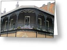 French Quarter 13 Greeting Card
