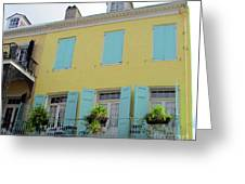 French Quarter 20 Greeting Card