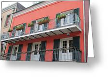 French Quarter 21 Greeting Card