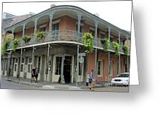 French Quarter 3 Greeting Card