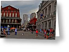 French Quarter Band Greeting Card