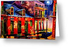 French Quarter Dazzle Greeting Card
