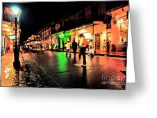 French Quarter New Orleans Greeting Card