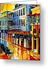 French Quarter Sunrise Greeting Card