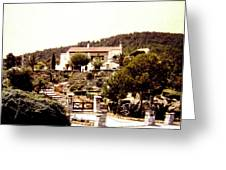 French Riviera 1955 Greeting Card