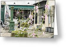 French Square Greeting Card
