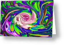 French Wild Rose Greeting Card