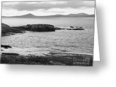 Esperance Bay Bw Greeting Card