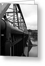 Frenchtown Bridge Greeting Card