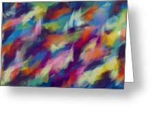 Fresh Abstraction Greeting Card