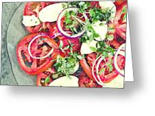 Fresh And Aromatic Greeting Card