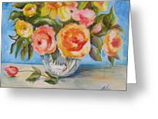 Fresh Bouquet Greeting Card