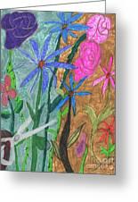 Fresh Cut Flowers Greeting Card