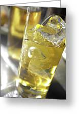 Fresh Drink With Lemon Greeting Card