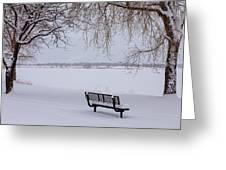 Fresh Fallen Snow Greeting Card