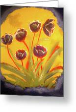 Fresh Flowers- 2nd In Series- The Dawn Greeting Card