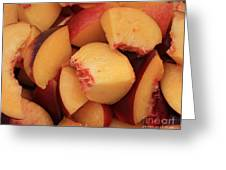 Fresh Peaches Greeting Card