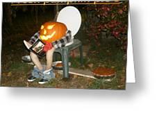 Fresh Pumpkin Pie's Greeting Card