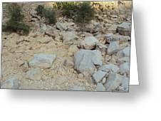 Fresh Rocks Greeting Card
