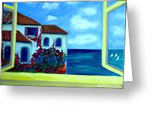 Fresh Sea Air Greeting Card